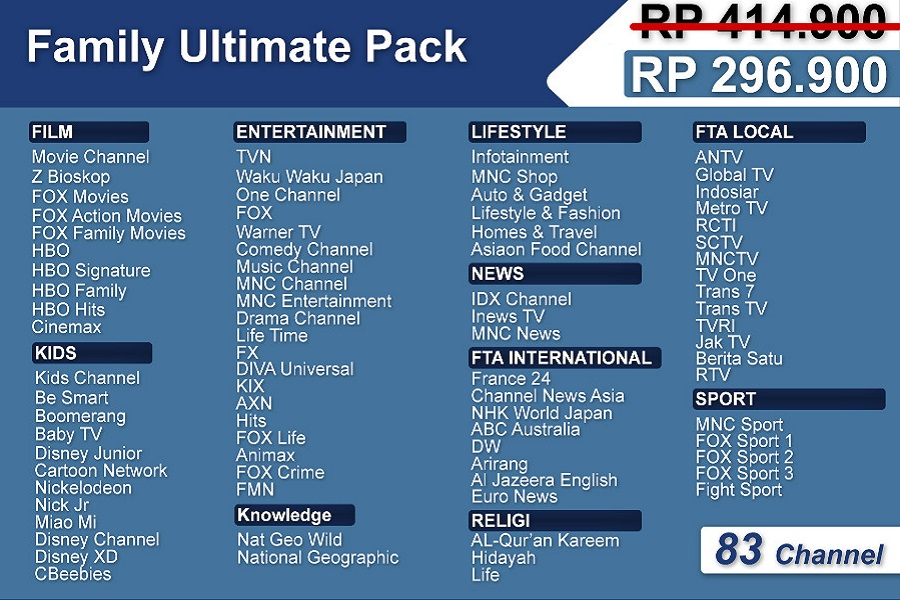 Family Ultimate Pack